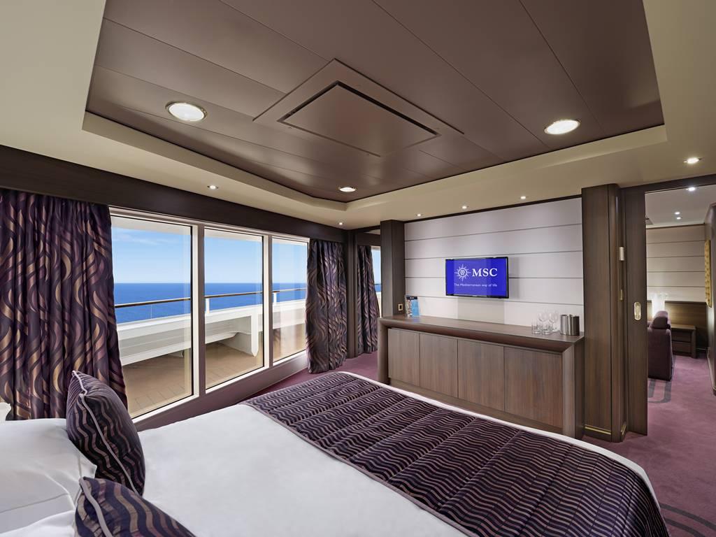 Suite mit Panoramafenster