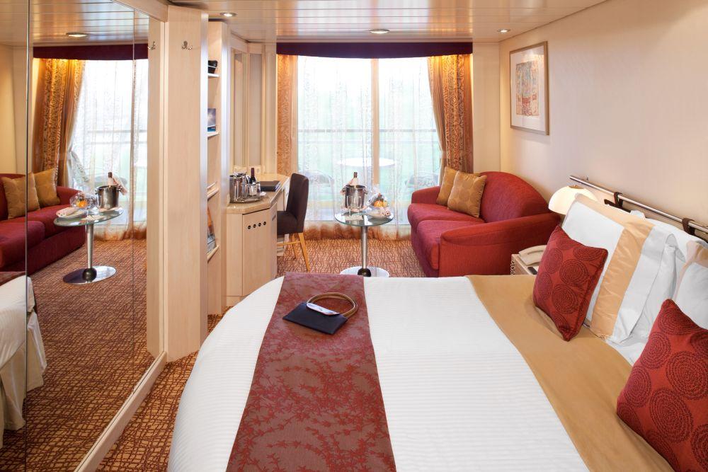Celebrity Constellation concierge class balkonkabine gross