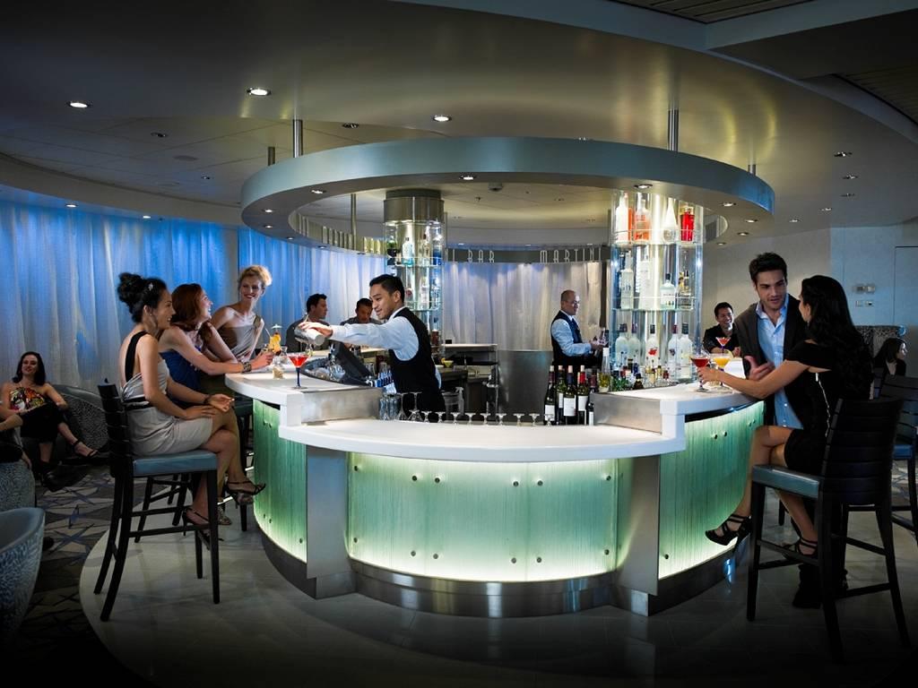 Martini Bar Eis Theke