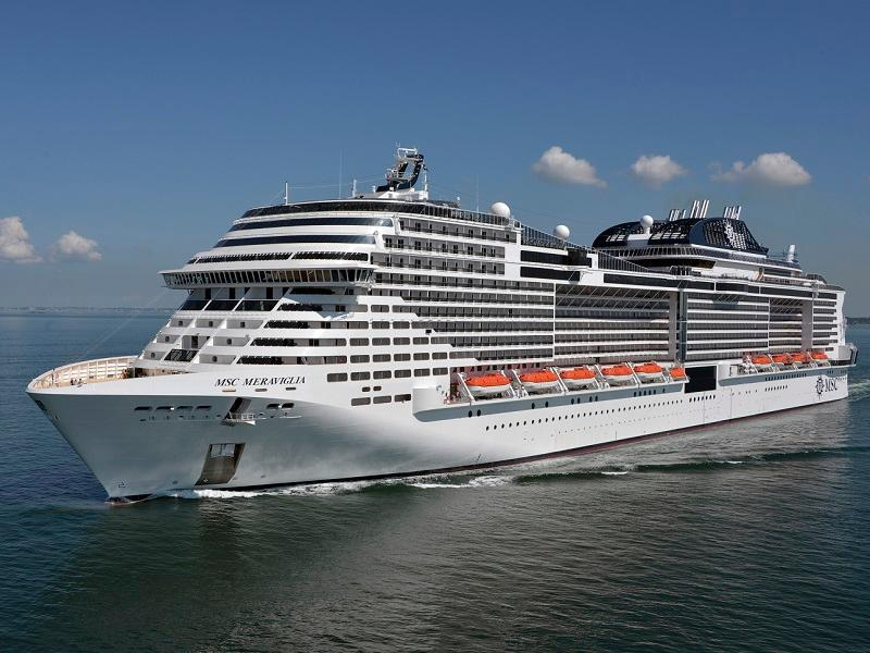 MSC Meraviglia Photo credit: Bernard Biger STX France