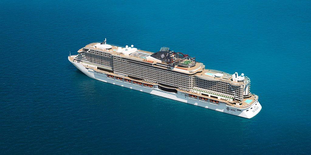 Msc Cruises Moderatorin Für Taufe Der Msc Grandiosa